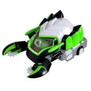 Kung Zhu Pets 2866 - Vehículo de combate para hámster ninja, color verde y blanco