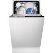 Masina de spalat vase Electrolux ESL4555LO, Complet Incorporabil, 9 Seturi, Clasa A+, Latime 45 Cm, 6 Programe, 4 Temperaturi, Panou Comanda Gri