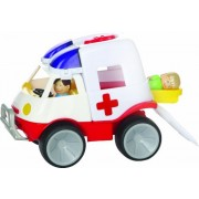 Gowi Toys Austria Ems Van with EMS Worker Figures