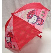 Paraguas Manual Hello Kitty