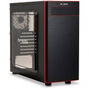 Carcasa In Win 703 Black / Red