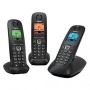 Siemens A540 TRIO Noir Teléfono fijo digital (manos libres), negro (importado)