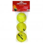 Топки за тенис на корт Mаксима 3 бр.