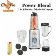 Chef Pro Power Blend 3 in 1 Blender Grinder Chopper