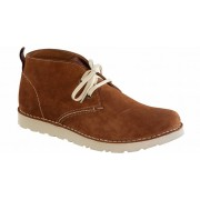Harris heren suede chestnut in 2 breedtes