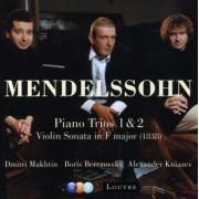 F. Mendelssohn-Bartholdy - Piano Trios No.1&2 (0825646978663) (1 CD)