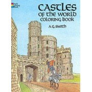Castles of the World Colouring Book by Albert G. Smith