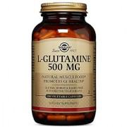 Solgar L-Glutamine 500 mg 250 Vegetable Capsules