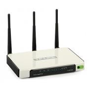 Punkt dostępowy TP-Link TL-WR1043ND z routerem, Gigabitowym switchem. 300Mb/s 802.11n, USB