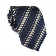 Cravatta seta a righe CRISTIAN BERG