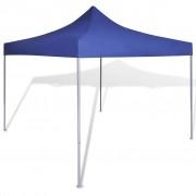 vidaXL Opvouwbare tent 3 x 3 m blauw
