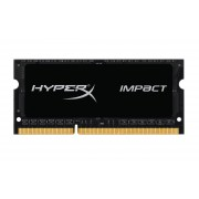 SODIMM, 8GB, DDR3L, 1600MHz, KINGSTON HyperX Impact, Low Voltage, CL9 (HX316LS9IB/8)