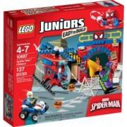 LEGO JUNIORS - ASCUNZATOAREA LUI SPIDER MAN 10687
