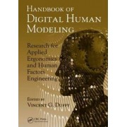 Handbook of Digital Human Modeling by Vincent G. Duffy