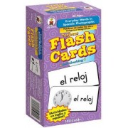 Everyday Words in Spanish: Photographic Flash Cards by Carson-Dellosa Publishing