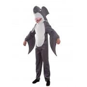 disfraz de tiburon divertido adulto | tiburon
