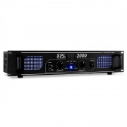Skytec SPL-2000 EQ Hifi PA Усилвател 2U DJ LED Ефект (SKY-178.799)