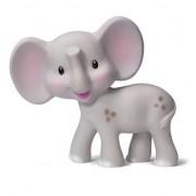 Bijtspeeltje 0+ m nat. rubber olifant