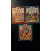 My Fairy Tale Library - Lot De 3 Livres - Hansel And Gretel - Jack And The Beanstalk - Cinderella