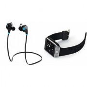 MIRZA Bluetooth Headset (Jogger Headset) And DZ09 Smart Watch for LENOVO a328