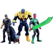 SDCC 2013 DC Comics Super Heroes Black Hand Green Lantern Sinestro Arkillo & Dex-Starr Action Figure 4-Pack