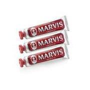 Marvis Cinnamon Mint Toothpaste Triple Pack (3 x 75 ml)
