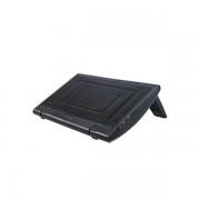 """Stand notebook DeepCool 15.4"""" - aluminiu - plastic, fan, 2 x USB, black """"Windwheel Black FS"""""""