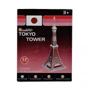 AsianHobbyCrafts Mini 3D Puzzle World's Greatest Architecture Series :Tokyo Tower : Model Size – 11cm x 11cm x 33cm