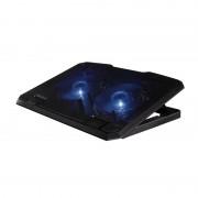 Cooler notebook Pad Hama, 13.3-15.6 inch, USB, Negru