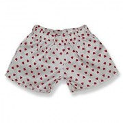 White Boxers with Red Hearts Shorts Teddy Bear Clothes Fit 14 - 18 Build-a-bear Vermont Teddy Bears and Make Your Own Stuffed Animals
