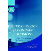 The Psychology of Economic Decisions: Rationality and Well-Being Volume 1 by Isabelle Brocas