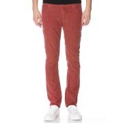 【70%OFF】コーデュロイ カラーパンツ レッド 32 ファッション > メンズウエア~~パンツ