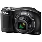 Aparat Foto Digital Nikon COOLPIX L620 (Negru), 18.1MP, Zoom Optic 14x, Filmare Full HD