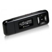 Transcend TS8GMP330W Lettore MP3, 8GB, Clip Sport, Nero