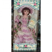 Timeless Treasures Katherine Collection ( Victorian Fur / Porcelain Doll - 2002 )