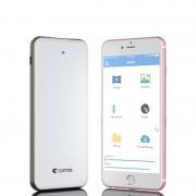 Comma Slim Box Wireless Storage Power Bank - външна батерия (5000mAh) и преносима памет (32GB) за безжично стриймване на файлове за iOS и Android