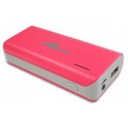 Powerbank 5200mA/h USB C/Lanterna Rosa