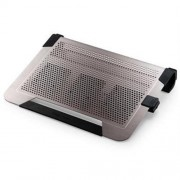 "Chladiaci ALU podstavec Coolermaster NotePal U3 PLUS pre NTB 15-19"" titanium, 3x8cm fan"