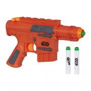 Star Wars Rogue One - Lanzadardos con luces Capitán Cassian Blaster, 2 dardos (Hasbro B7764EU4)