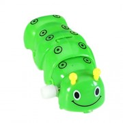 Imported Wind Up Clockwork Caterpillar Kids Toy Collectibles