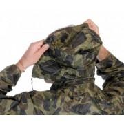 Carina Set de ploaie, pantaloni cu geaca 3/4, Galben, Verde, Bleumarin, Camouflage, M-3XL