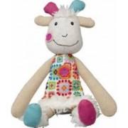Jucarie bebelusi Ebulobo Mini Doll Huguette the Goat