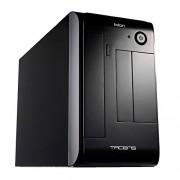 Tacens IXION Case Mini ITX Black con Alimentatore Radix 300 W SFX, Nero