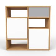Sideboard Eiche, MDF, 79 x 79 x 35