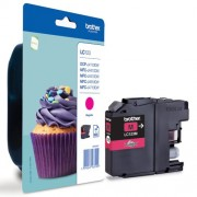 BROTHER Magenta Ink Cartridge for MFC-J4510DW (LC123M)