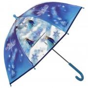 Blauwe Disney Frozen paraplu meisjes 70 cm