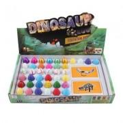 Magical Imaginary Dinosaur Hatchery Toys-Hatch And Grow- 40 Colorful Small Dinosaur Eggs And 40 AR Cards