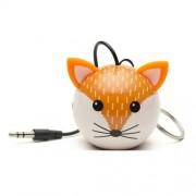 Boxa portabila KitSound MyDoodles Trendz Mini Buddy Fox