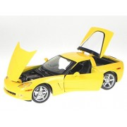 Maisto Chevrolet Corvette Coupe C6 (2005, 1:18, Metallic Blue)