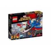 Конструктор LEGO Super Heroes Воздушная погоня Капитана Америка